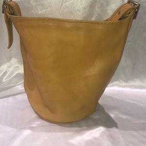 Coach 9085 vintage duffle feed sac bucket bag